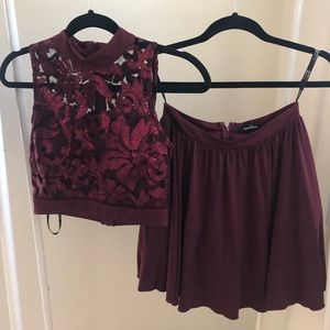 Formal two piece set